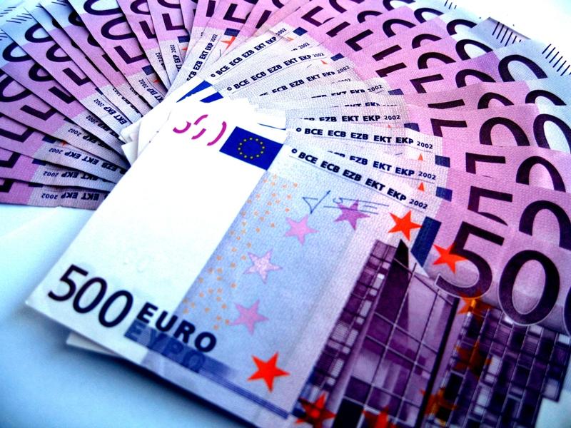 500 Euro Bündel