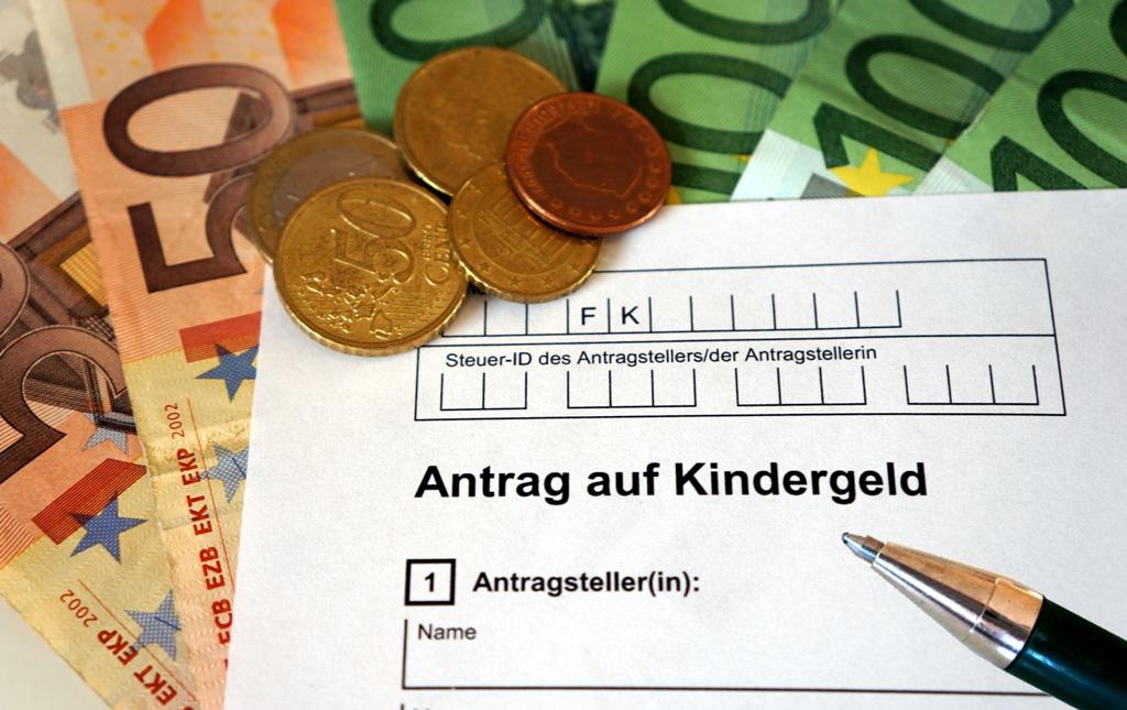 Antrag Kindergeld Kindergeldantrag
