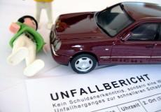 Autounfall Personenschaden Unfallbericht
