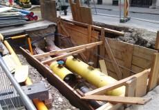 Baustelle Rohre