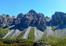 Berge Kalkkögel Alpen
