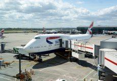 Boarding Flugzeug 1