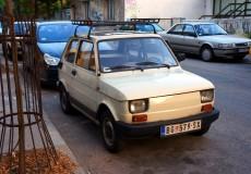 Fiat 126 weiß