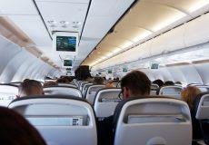 Flugzeug Willkommen an Bord 1