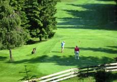 Golfplatz Golfspieler