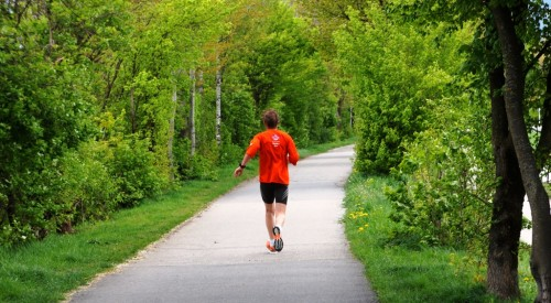 Jogger Laufen Gesundheit Ausdauer