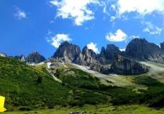 Kalkkögel Alpen Berge Gipfel
