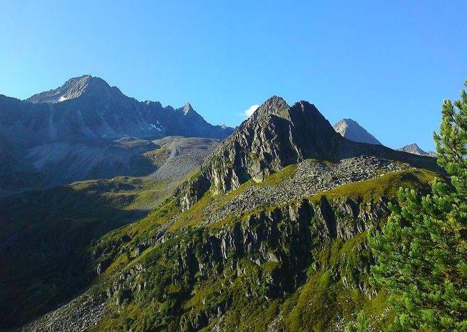 Kalkkögel Alpen Berge