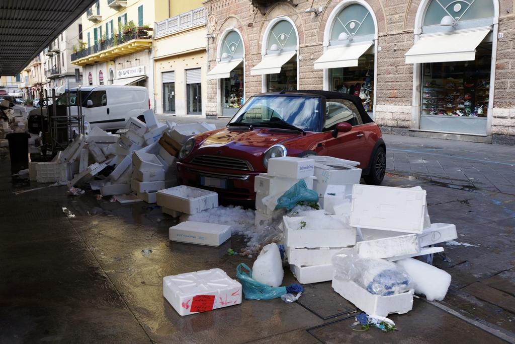 Neapel Müll