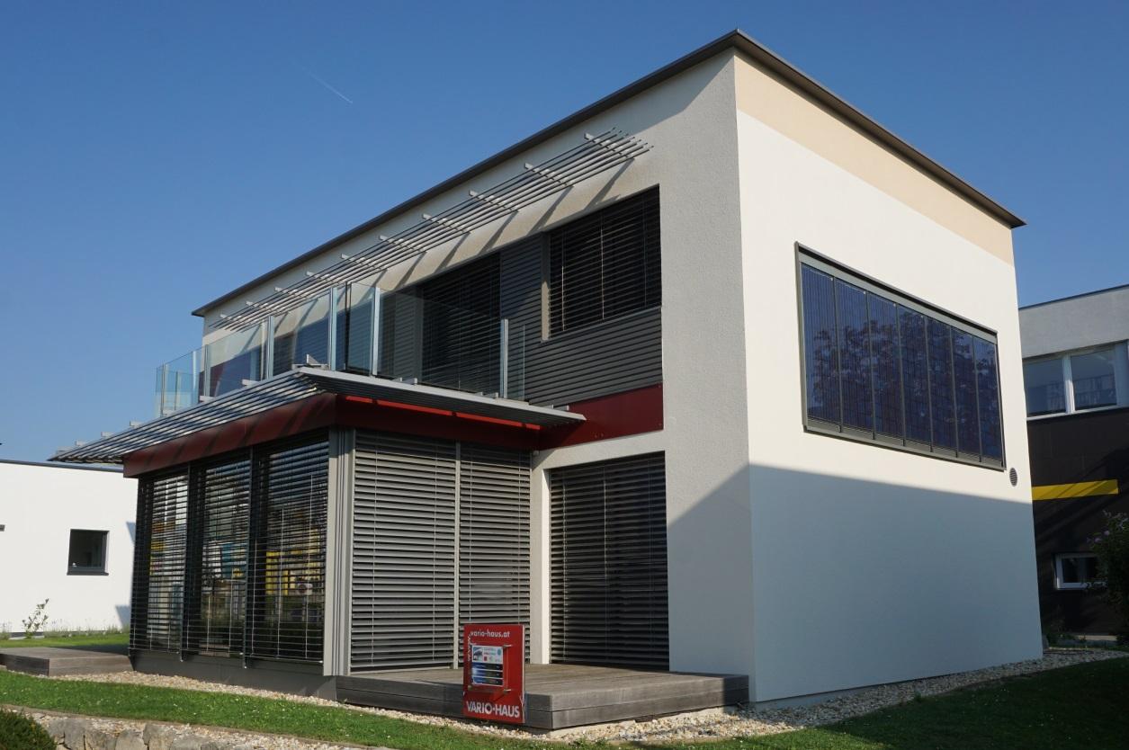 Niedrigenergiehaus mit Photovoltaik