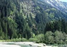 Stubaier Gletscher Fluss