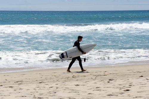 Surfer-Surfbrett