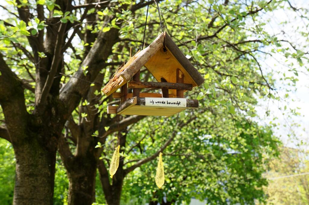 Vogelhaus-Baum