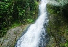 Wasserfall Urwald Thailand