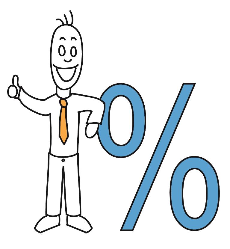 Abverkauf – Prozente – Sale