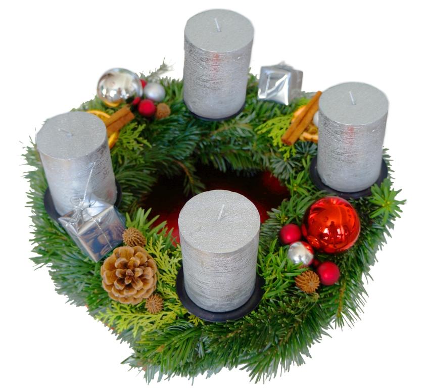 Adventskranz Weihnachtskranz