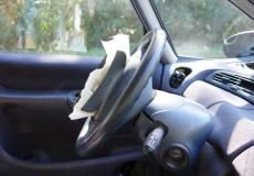 Airbag ist geplatzt
