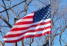 Amerikanische Flagge Fahne