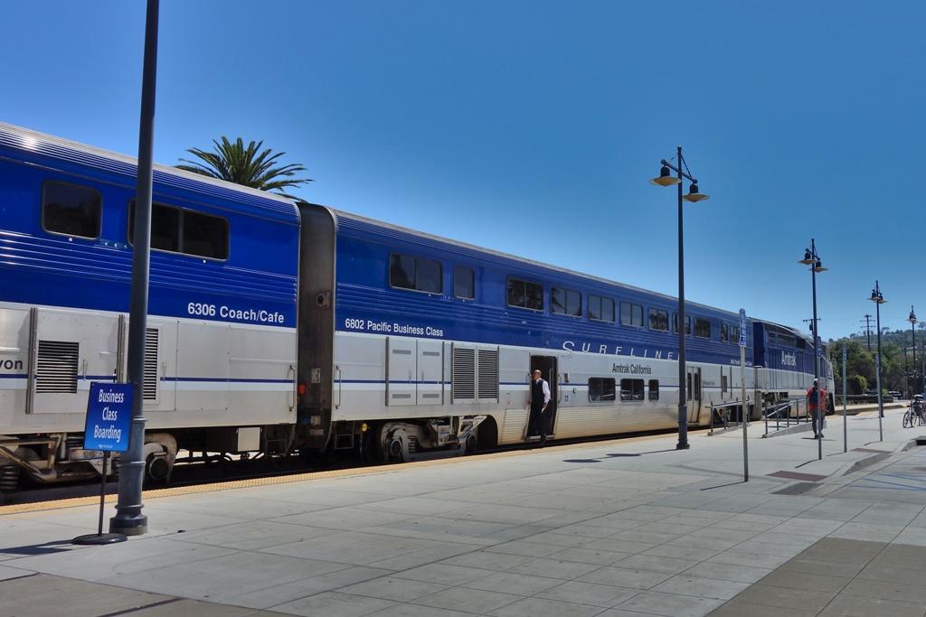 Kalifornien Amtrak Zug