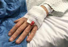 Arterieller Zugang Hand