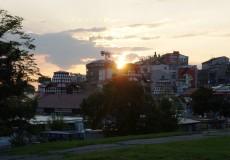 Aussicht Hauptplatz Belgrad