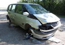Auto ausgeschlachtet wegen Totalschaden