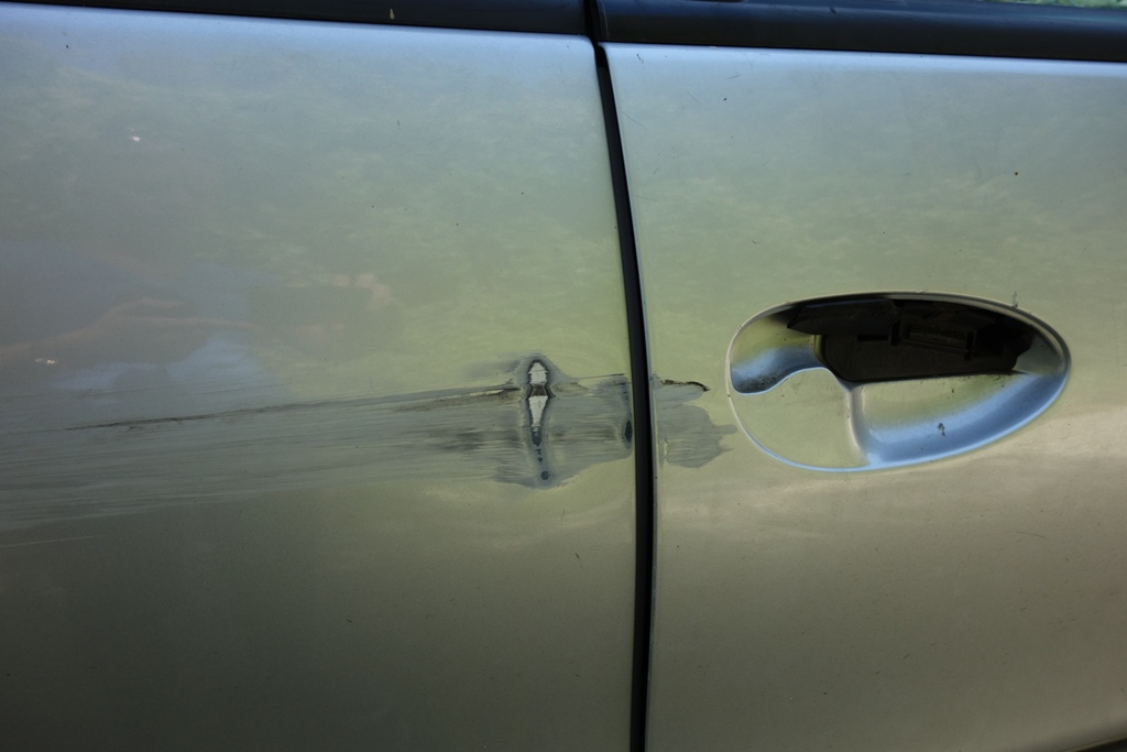 Vandalismus Auto