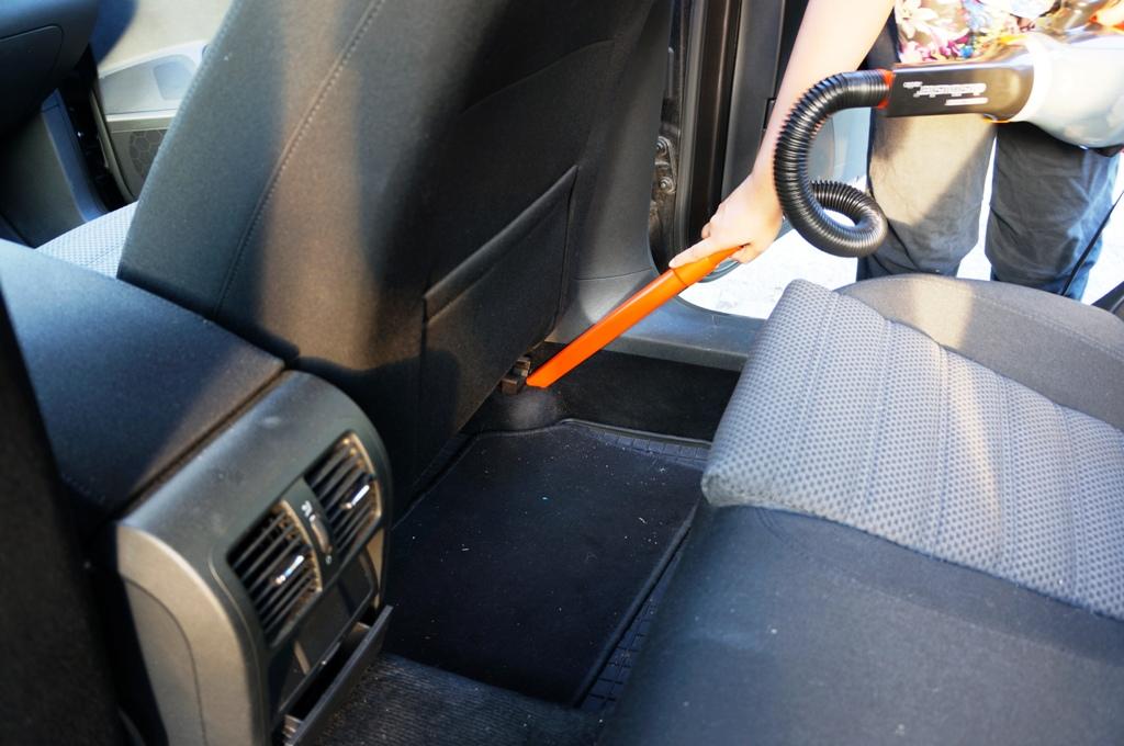 Saugen – Autopflege
