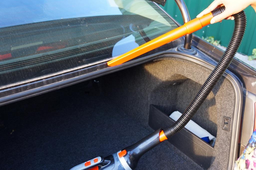 Staubsaugen Autopflege