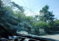 Autounfall & Autoscheibe kaputt