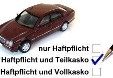 Autoversicherung Teilkasko