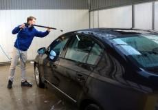 Autowaschbox – Auto waschen