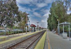 Kalifornien Bahnhof Zug