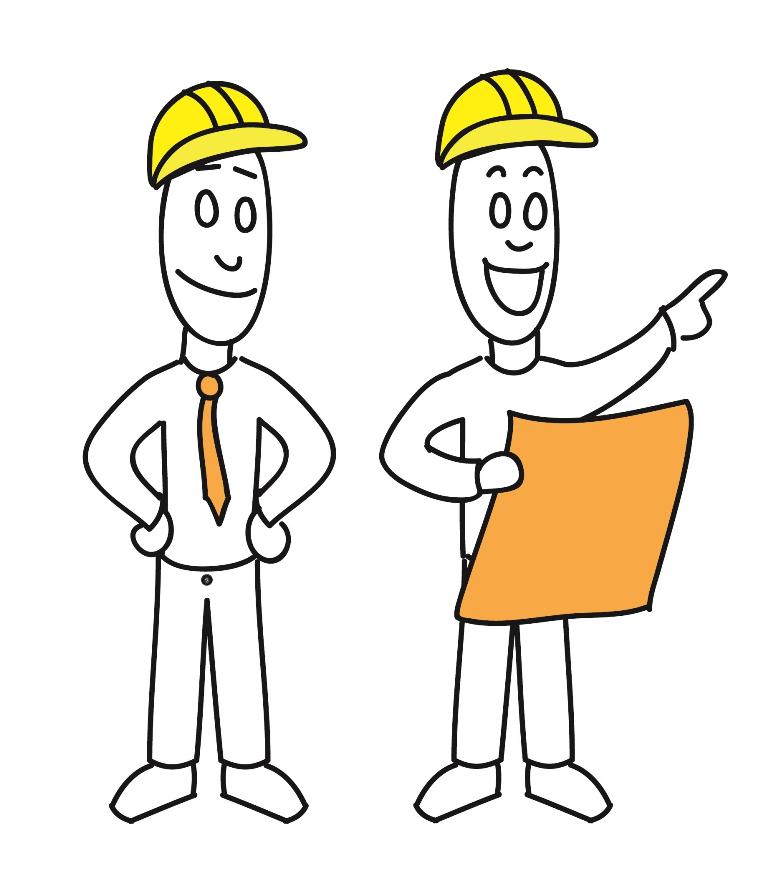 Baustelle – Bauleiter