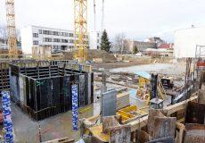 Überblick Baustelle