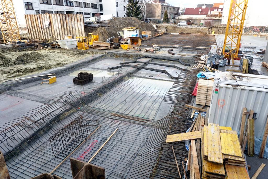 Fundament / Baustelle