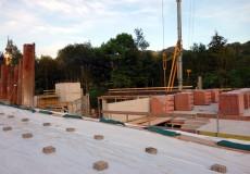 Baustelle, Hausbau, Keller