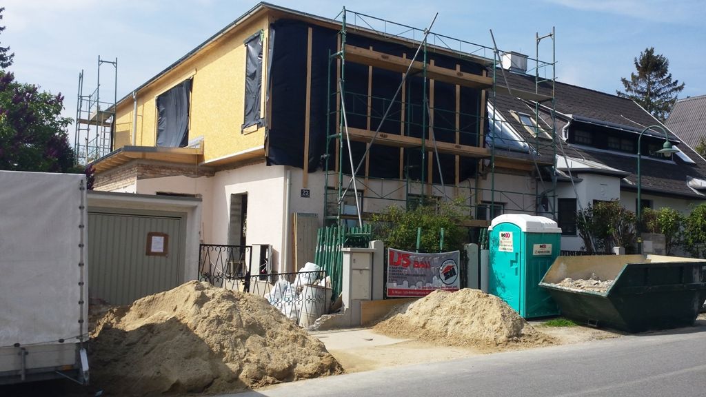 Renovierung Baustelle