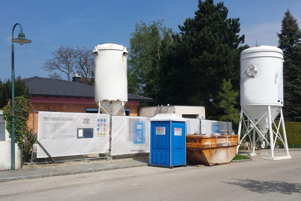 Baustelle Beton Zement
