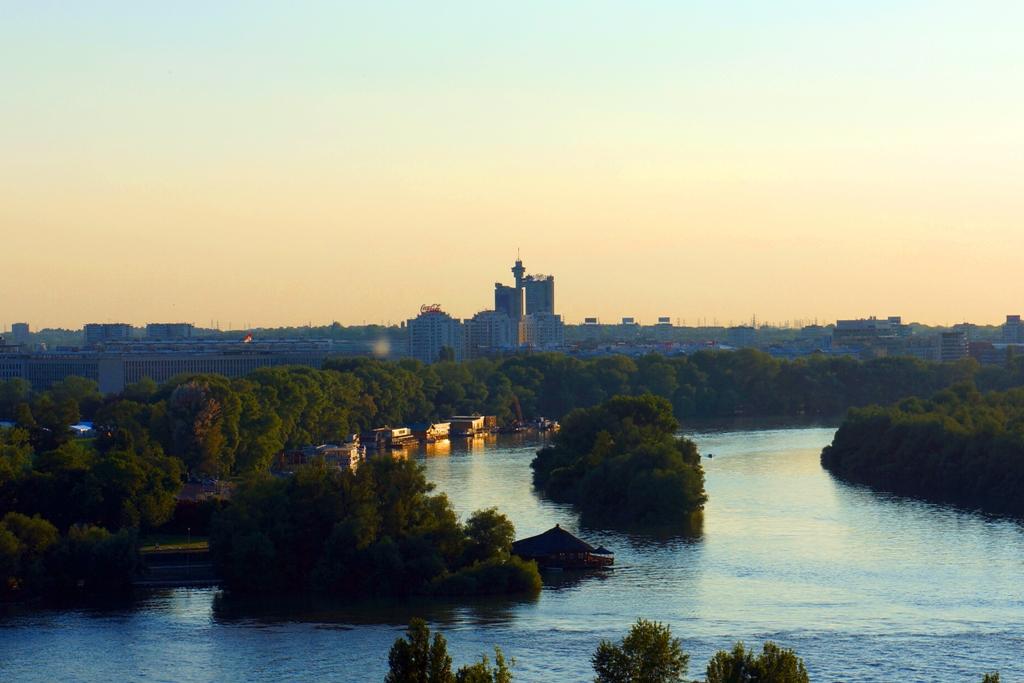 Genex Turm Belgrad Aussicht