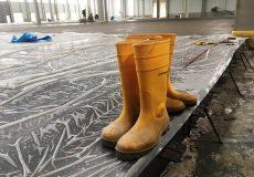 Betonboden Verdunstungsschutzfolie