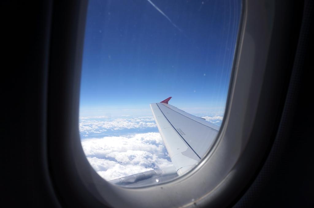 Blick Aus Dem Flugzeug 1 Lizenzfreie Fotos Bilder Kostenlos