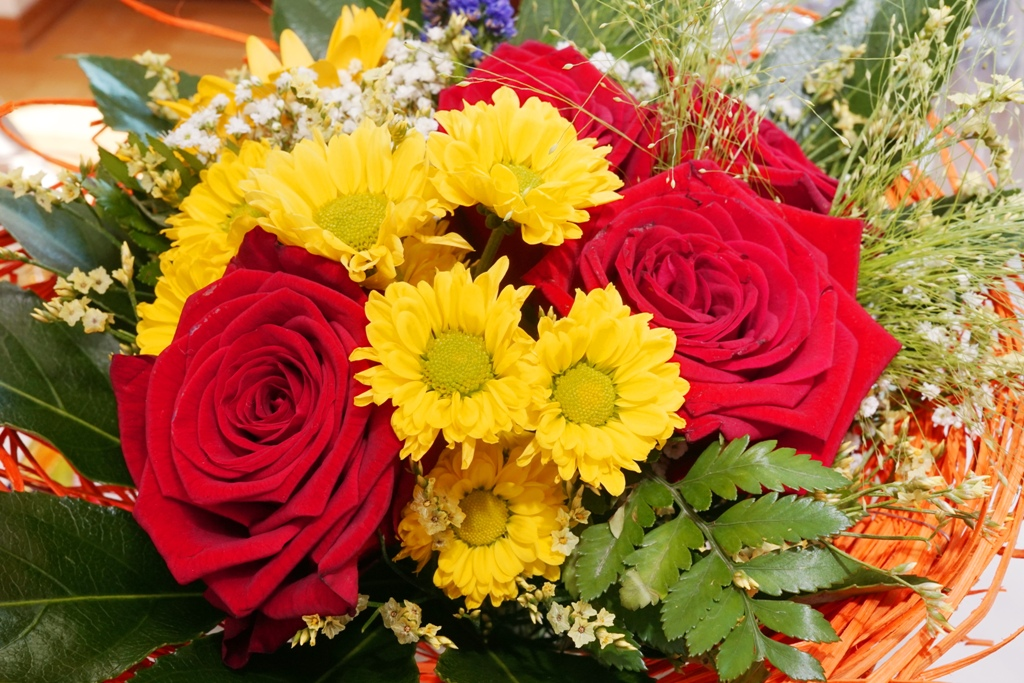 Blumen / Klassischer Blumenstrauß - lizenzfreie Fotos