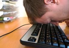 Burnout Computer Arbeit