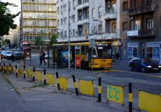 Bus in Belgrad