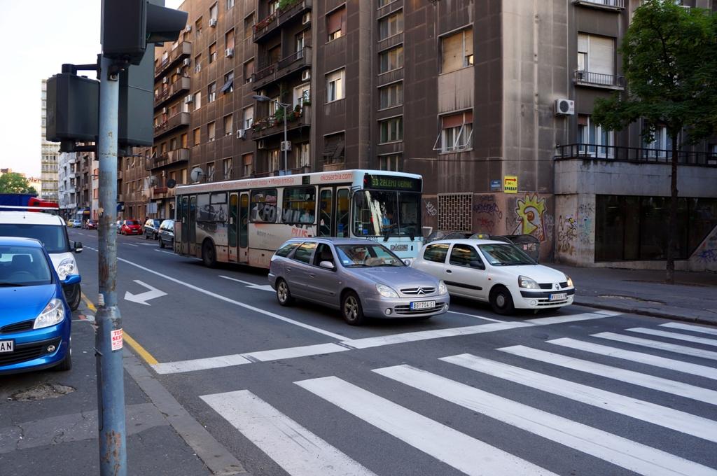 Bus und Verkehr in Belgrad