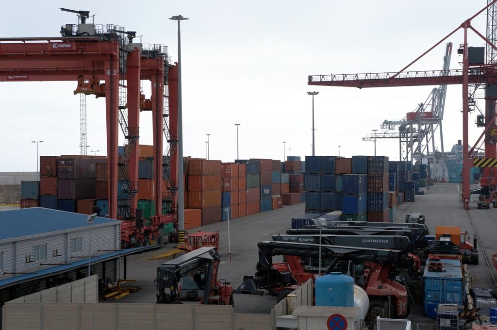 Containerhafen Container