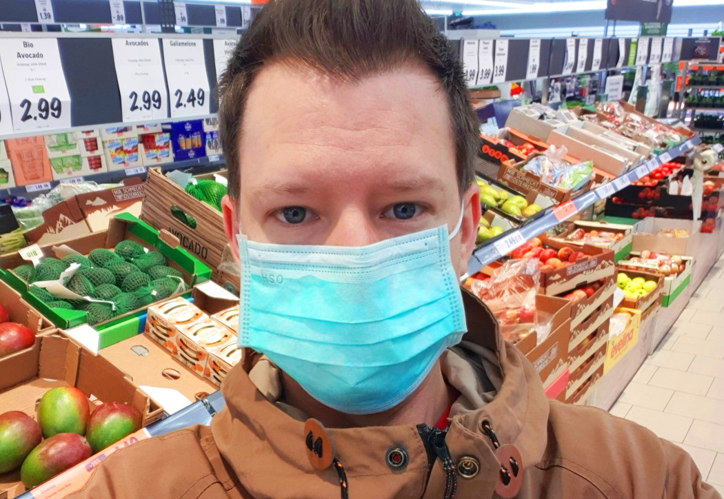 Coronavirus Mundschutz