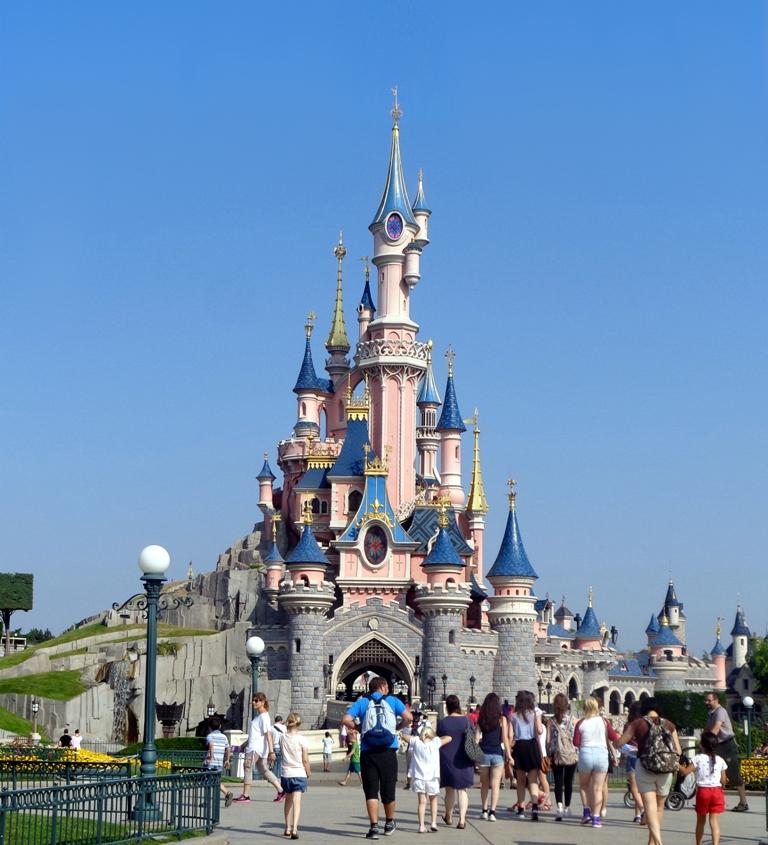 Schloss Disneyland Paris Lizenzfreie Fotos Bilder Kostenlos