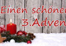 Frohes Fest & einen schönen 3. Advent
